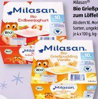 Bio Grießpudding von Milasan