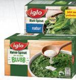 Rahm-Spinat von Iglo