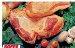 Rauchfrische Schweinebacke von Hoppe