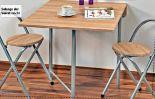 Tisch mit 2 Stühlen von Kesper
