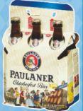 Oktoberfestbier von Paulaner