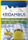 Natives Olivenöl extra von Eridanous