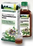 Schoenenberger Naturreiner Heilpflanzensaft Passionsblumenkraut von Salus