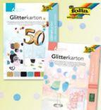 Glitterkarton von Folia
