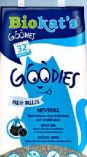 Goodies Fresh Natur Katzen-Klumpstreu von Biokat´s