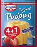 Original Pudding Vanille-Geschmack von Dr. Oetker