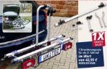 Kupplungs-Fahrradträger Alu-Atlas von Unitec