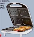 Sandwichmaker SA-3065 von Tristar