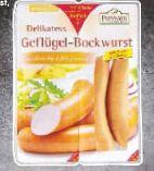 Geflügel-Bockwurst von Ponnath