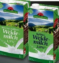 Haltbare Fettarme Weidemilch von Schwarzwaldmilch