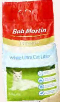 Premier White Katzenklumpstreu von Bob Martin