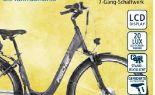 Alu-Elektro-Citybike Proline ECU 1401 von Fischer Fahrrad