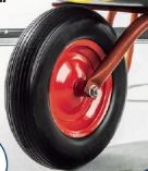 Universal-Schubkarrenrad pannensicher von Kraft Werkzeuge