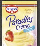 Paradies Creme von Dr. Oetker