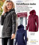 Damen Strickfleece-Jacke von ElleNor