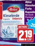 Abtei Kieselerde Intensiv Kapseln von Omega Pharma
