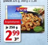 King Prawns Riesengarnelenschwänze von Escal