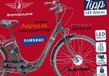Alu-Elektro-Fahrrad Green 2.0 von Zündapp