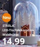 STRÅLA LED-Tischdekoration Waldhütte von IKEA
