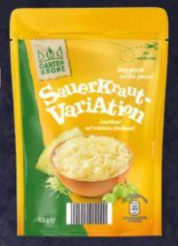 Sauerkraut-Variationen von Gartenkrone