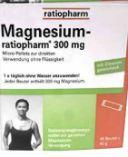 Magnesium von Ratiopharm