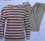 Erwachsenen-Frottee-Schlafanzug von Normann