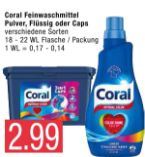 Feinwaschmittel von Coral