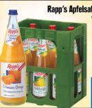 Apfelsaft von Rapp's Kelterei