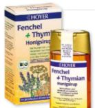 Bio Honigsirup Fenchel + Thymian von Hoyer