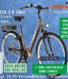 Alu-Elektro-Citybike CITA 3.0 von Fischer Fahrrad