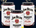 Cola-Mix mit Bourbon Whiskey von Jim Beam