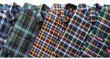 Herren-Karo-Flanellhemd von A. W. Dunmore