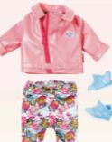 City Deluxe Scooter-Outfit von Baby Born