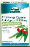 Erkältungs Kapseln Eukalyptusöl von St. Andreas