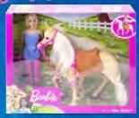 Barbie mit Pferd von Mattel Games