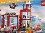 City Feuerwehr-Station 60215 von Lego