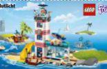 Friends Leuchtturm mit Flutlicht 41380 von Lego