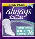 Slipeinlagen Gigapack von Always