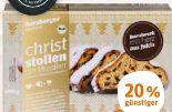 Bio-Christstollen von Herzberger Bäckerei