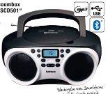 Boombox SCD501 von Lenco