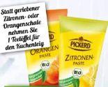 Bio Zitronen Paste von Pickerd