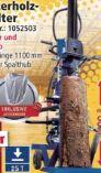 Meterholzspalter HL2500GM von Scheppach