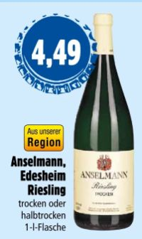 Edesheim Riesling von Anselmann