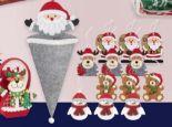 Weihnachtliches Filz-Sortiment von Casa Deco