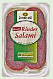 Bio-Rinder Salami von Alnatura