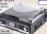 Bluetooth-Schallplatten- und Kassettendigitalisierer TX-22+ von Technaxx