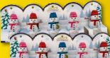 Mini Schneemänner von Lindt