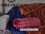 Microfaser-Wohndecke von Carlo Colucci