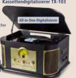 Nostalgie-Bluetooth Schallplatten-/CD von Technaxx