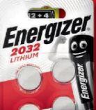 Batterien Spezialzelle CR2032 von Energizer